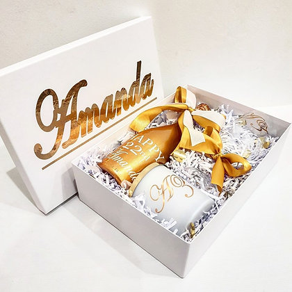 Gift Hamper Set - Gold
