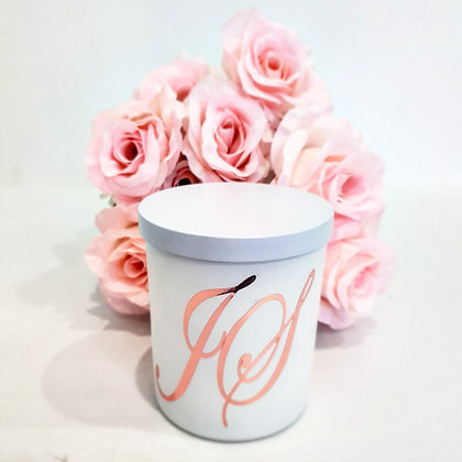 Personalised Initial Candles - Classic Jar