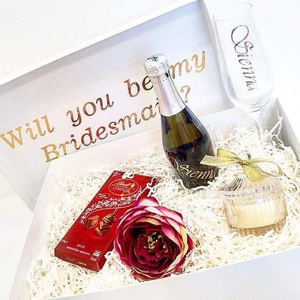 Will you be my Bridesmaid? Sapphire Proposal Gift Pack