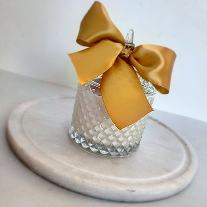 Dome Clear Tiffany Jar - Large