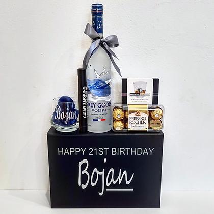 Vodka & Cigar Gift Hamper