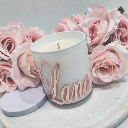 Personalised Name Candles - Classic Jar