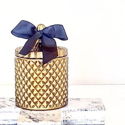 Golden Bronze - Tall Tiffany Jar