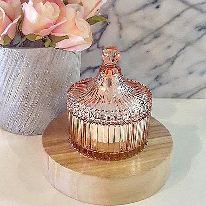 Rose Gold Tiffany Jar - Regular