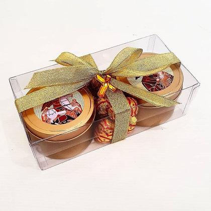 Gold Tin Livani Duo Gift Box