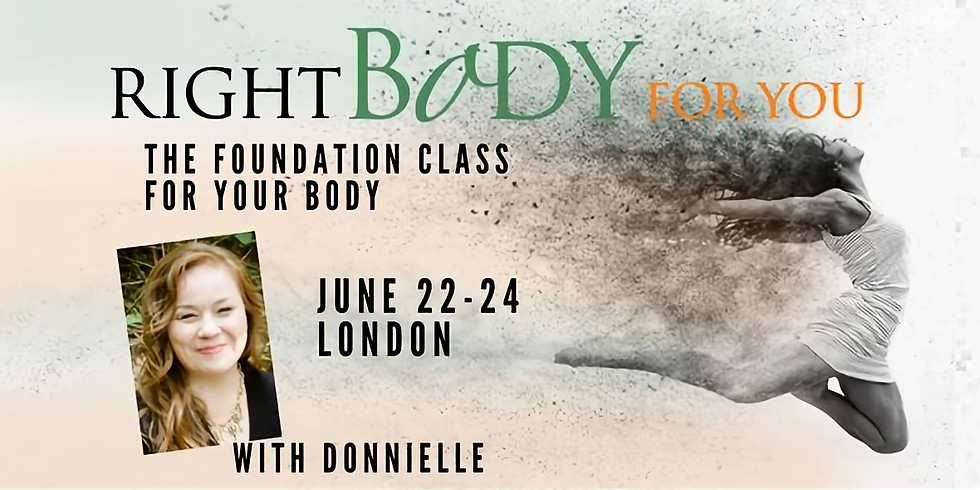 Right Body For You Intro Class London