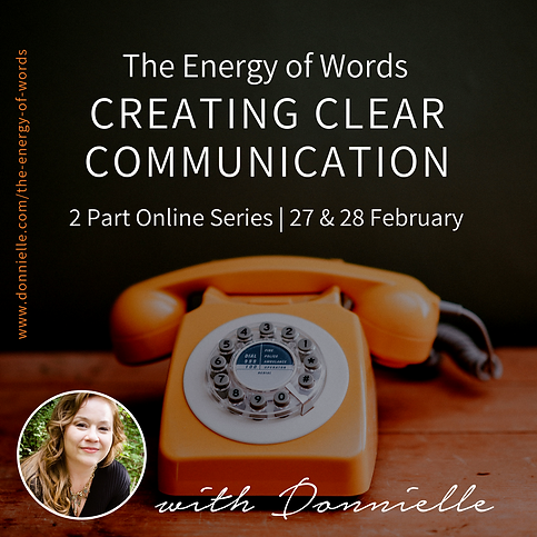 Donnielle Carter The Energy Of Words 2 P