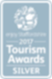 Enjoy Staffs Tourism Awards SILVER_2017[