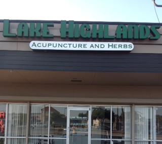 Front of Lake Highlands Acupuncture