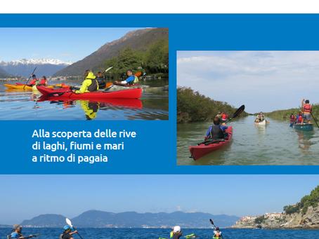 Sentieri d'acqua, guida all'escursionismo in kayak