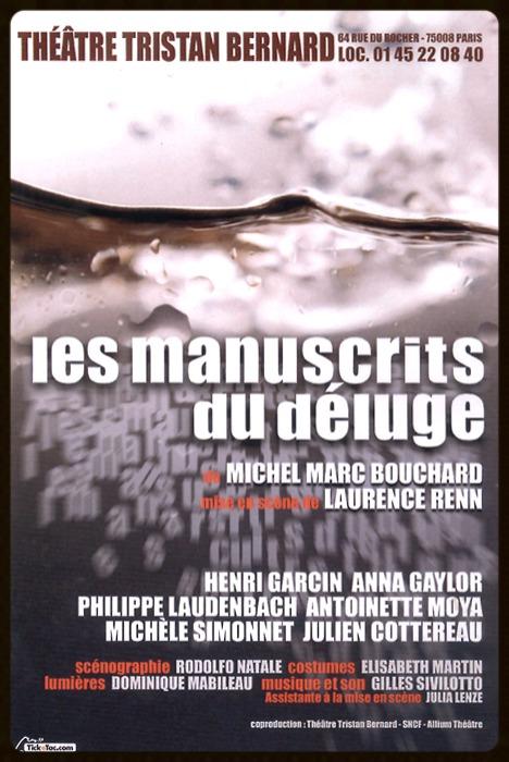 Les Manuscrits du déluge
