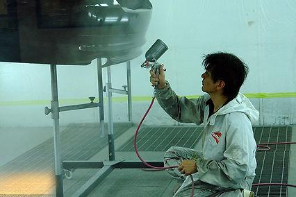 特徴3-板金塗装施工