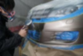 鈑金9-ベースコート塗装