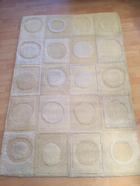 clean rug