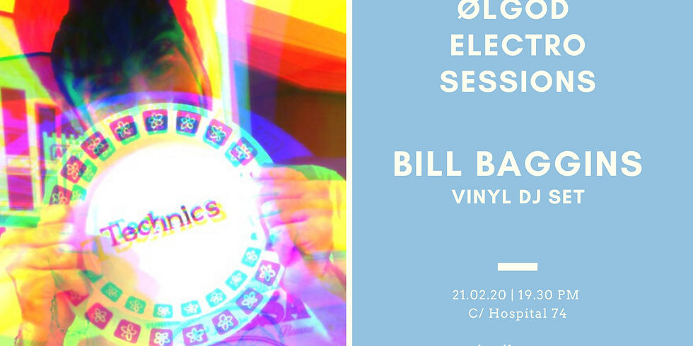 Ølgod Electro Sessions: Bill Baggins Vinyl Dj Set