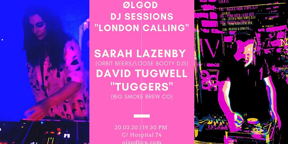 """Ølgod Sessions: Sarah Lazenby & David Tugwell """"Tuggers"""" DJ Set"""