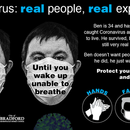 Ben's #BehindTheMask experience is terrifying, read it here