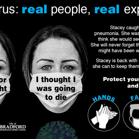 Stacey's #BehindTheMask experience is emotional, read it here