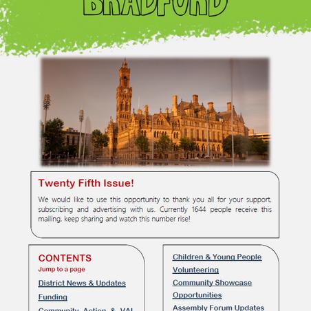 Read Issue 25 of Briefing Bradford
