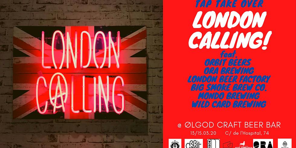 Ølgod Tap Take Over: London Calling!