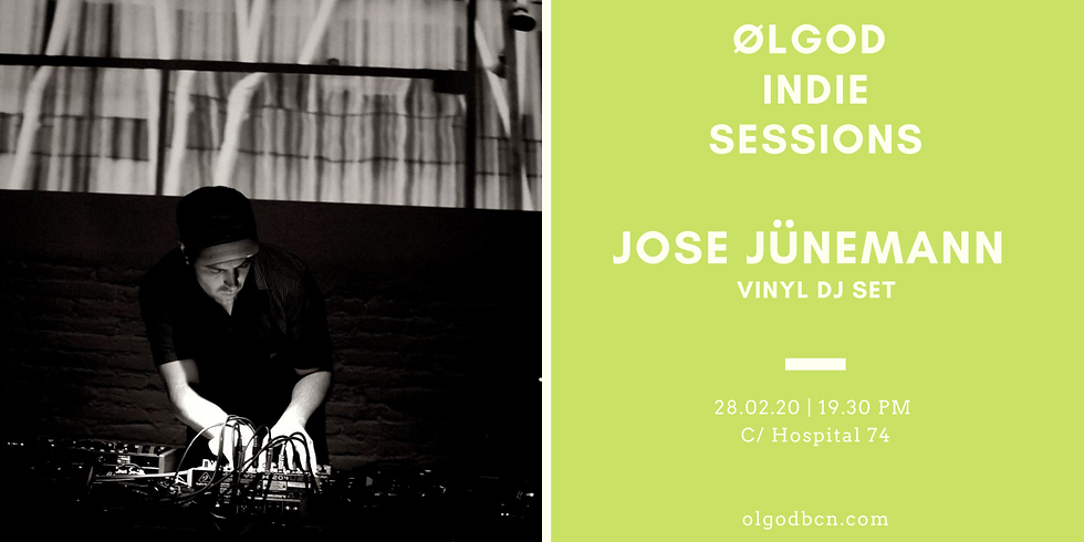 Ølgod Indie Sessions: Jose Jünemann Vinyl Dj Set