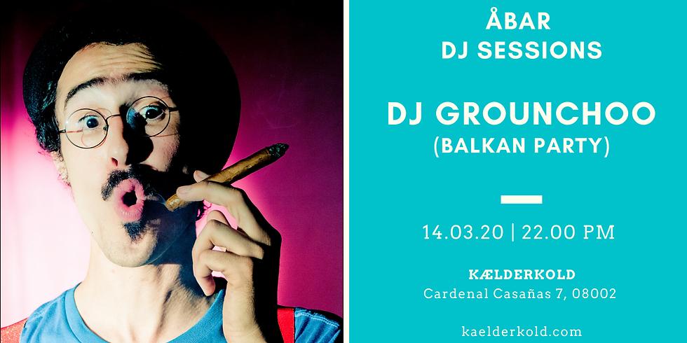 DJ Grounchoo (Balkan Party) at Åbar