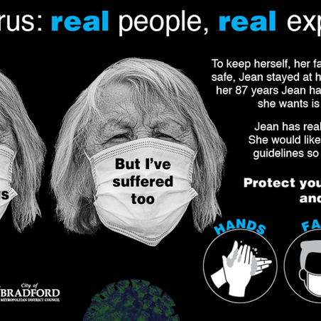 Jean's #BehindTheMask experience is lonely, read here