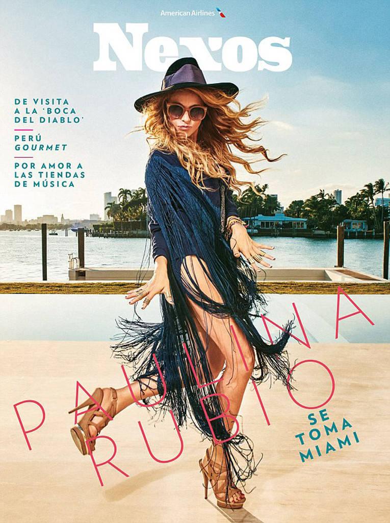 Paulina Rubio for Nexos Magazine