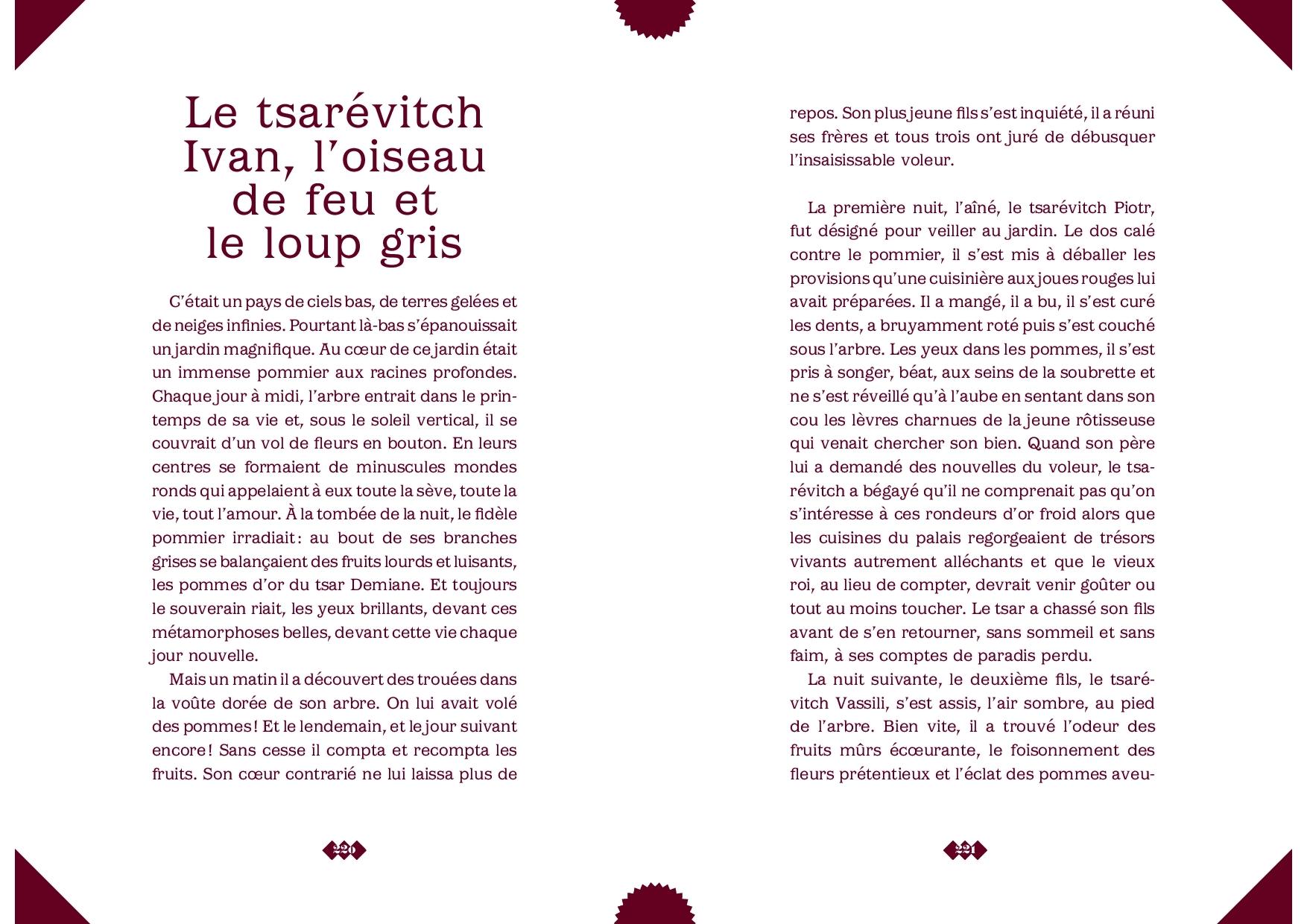 Le tsarévitch Ivan, l'oiseau de feu