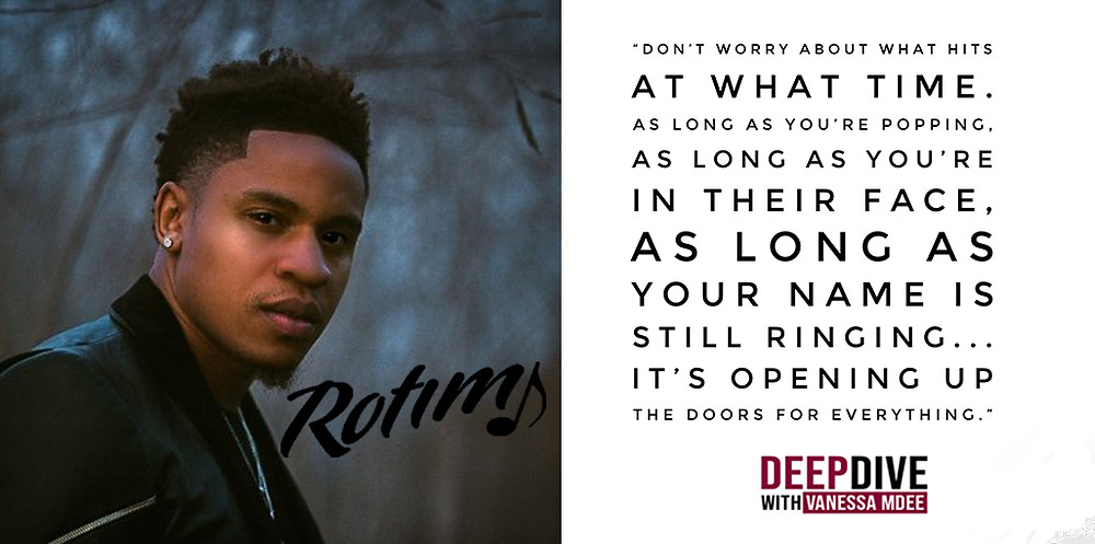 Rotimi talking on the advice that 50 Cent and Tyrese gave him