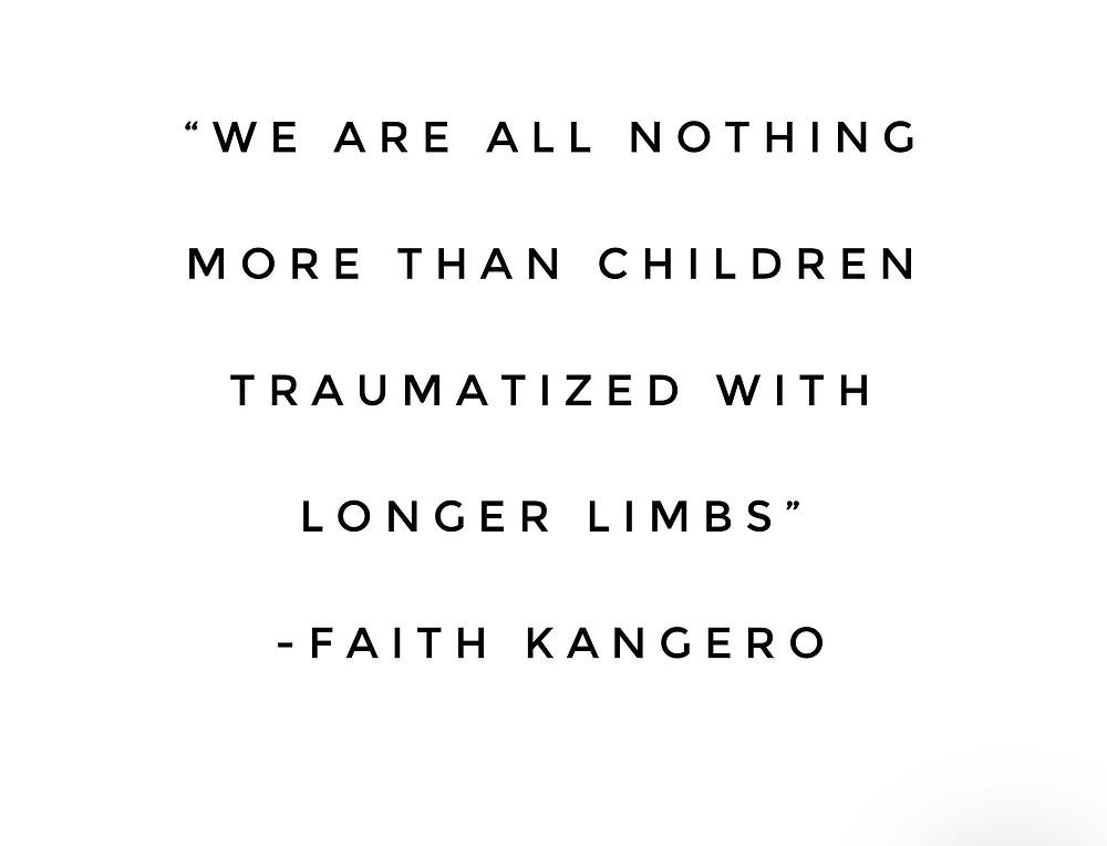 Faith Kangero - Spirit of Esther