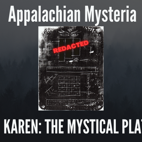 Mystical Plate Connected to the WVU Coed Murders Decoded