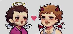 Maurílio e Julinho Num Universo Alternativo - Já que o Maurílio é dos Anjos, então o Julinho é do diabo? 🤔 (Lummy)