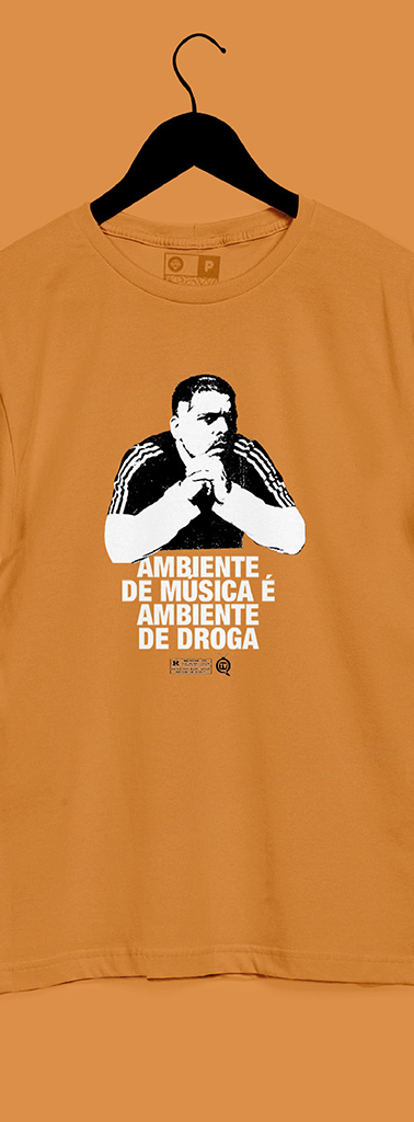 Camisa Rogerinho