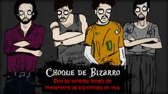 """Choque de Bizarro - """"Sempre falando de bizarrice, e hoje, filmes de zumbis!!!"""" Julia Brazolim"""