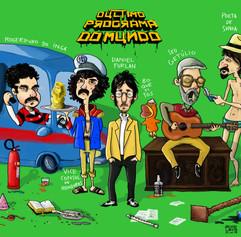 Melhor programa de tv/internet de todos os tempos, depois do Gugu.(Bruno Lanza)