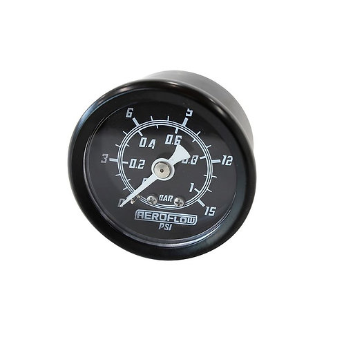 Pressure Gauge, 1 Bar (15 PSI)