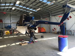Helicopter_MD-500D_Undercarriage_Repairs
