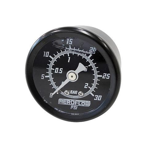 Pressure Gauge, 2 Bar (30 PSI), Liquid Filled