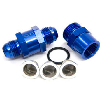 AEROFLOW Inline Fuel and Oil Filter, 30, 80, 150 Micron, -3 to -8 (AF608-0x)