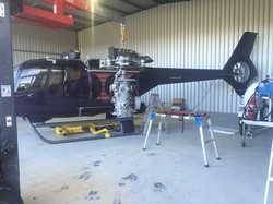 Helicopter_EC-120B_Rotor_Gearbox_Removal