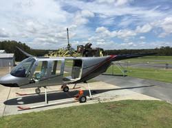 Helicopter_Bell_B206-L1_Respray_Progress