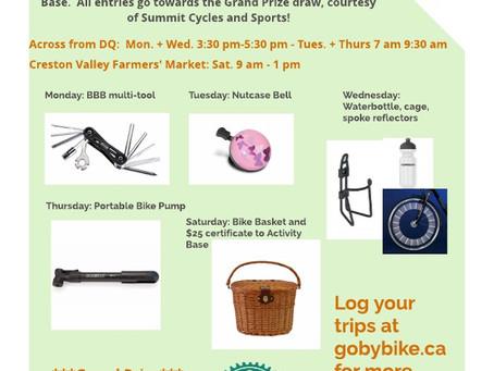 Bike to Work Week Prizes!