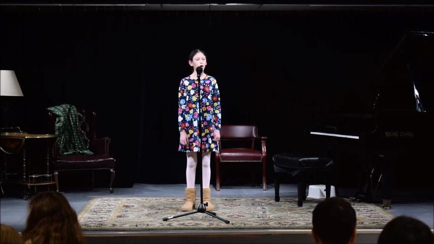 Winter Students Recital 2019