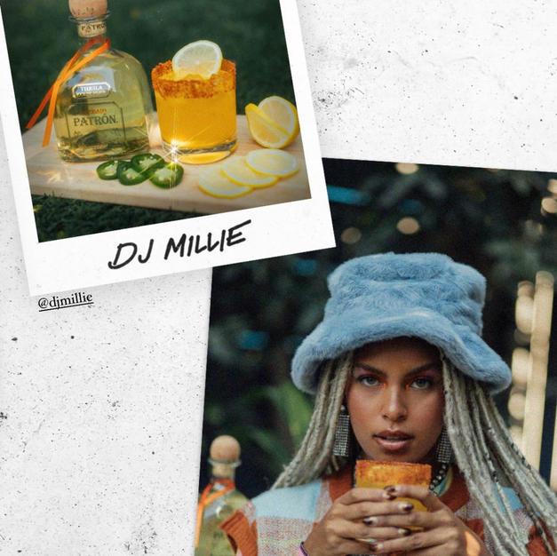 DJ Millie x Patron x Cocktail Courier