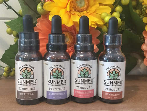 Hemp Oil (Tincture) - Full Spectrum - 750mg - Available in Multiple Flavors