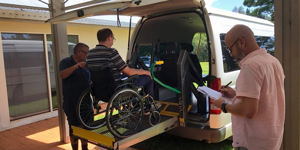 Wheelchair Accessible Taxi (WAT) Assessor - Train the Trainer Refresher Program