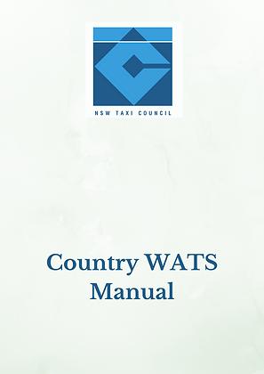 WATS Country Manual