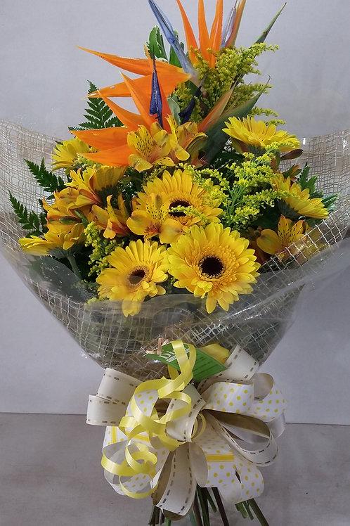 Boque com flores variadas.