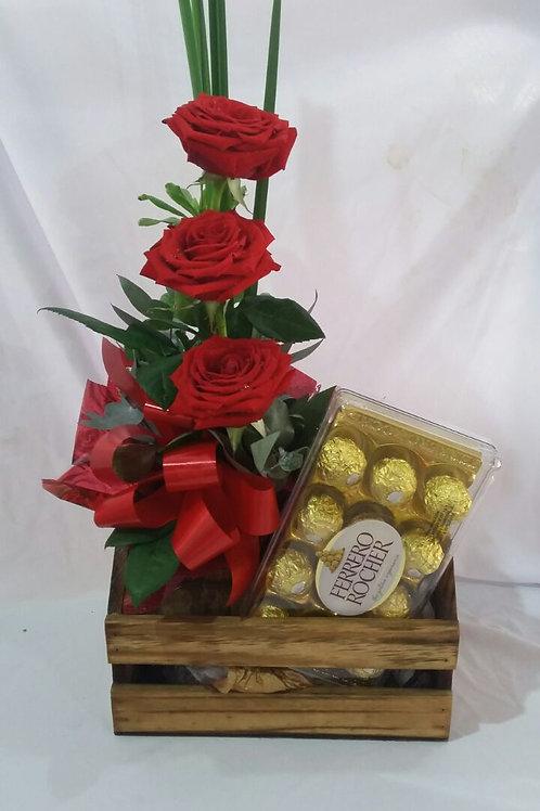 Arranjo de rosas especiais